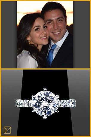 Solitaire Engagement Ring - Vanessa Nicole Jewels