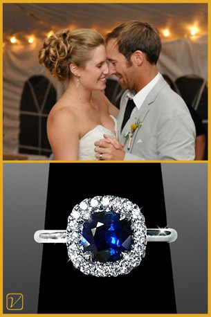 Joe & Suzie - Vanessa Nicole Jewels - Happy Client
